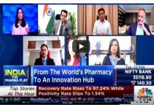 Nilesh Gupta on the panel discussions of BioAsia 2021