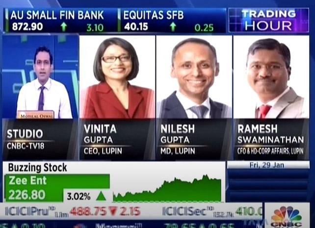 Nilesh Gupta, Vinita Gupta and Ramesh Swaminathan discuss the Q3FY21 results with CNBC TV18