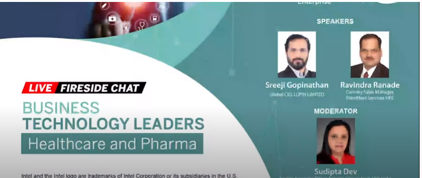 Business Technology Leaders Forum Fireside Chat with Sreeji Gopinathan, Global CIO, Lupin Limited