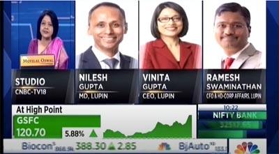 Nilesh Gupta, Vinita Gupta and Ramesh Swaminathan discuss the FY 2021 Results with CNBC TV18