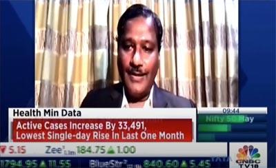 Mr Ramesh Swaminathan on CNBC TV18 – 'COVID-19 drugs shortage: compulsory licensing'
