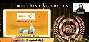 Lupisafe Wins Bronze at the E4M Health MarCom Awards for Best Brand Integration