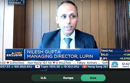 Nilesh Gupta discuss the Q1 FY 2022 results with CNBC International