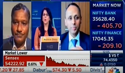 Nilesh Gupta and Ramesh Swaminathan discuss the Q1 FY 2022 results with CNBC TV18