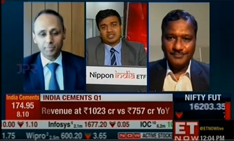 Nilesh Gupta and Ramesh Swaminathan discuss the Q1 FY 2022 results with ET Now