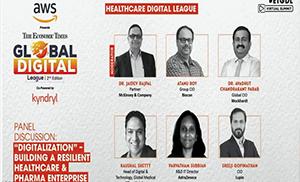 Mr. Sreeji Gopinathan in The ET Global Digital League on 'Digitalization – Building a Resilient Pharma Enterprise'